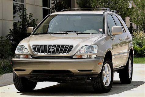 2000 Lexus Rx300 by 2000 Lexus Rx 300 Overview Cargurus