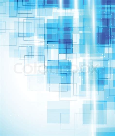 background with blue squares stock vector colourbox