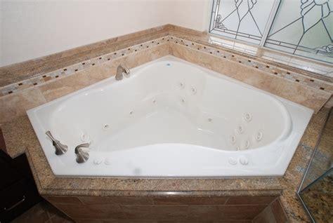 Bathroom Shower And Tub Ideas corner tub amp shower seat master bathroom reconfiguration