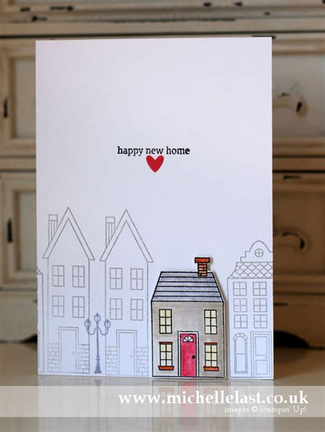ideas for cards at home new home card using home from stin up with