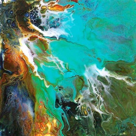 acrylic paint on yupo acrylic on yupo by catherine jeltes blue paintings