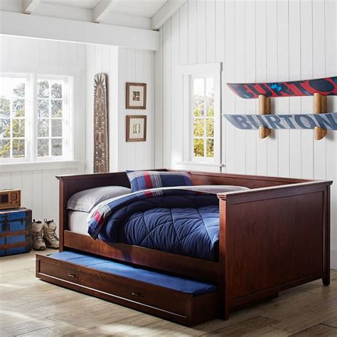 bed daybed hton daybed trundle pbteen
