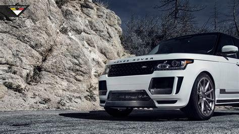 Car Wallpapers Range Rover by 2014 Vorsteiner Range Rover Veritas Wallpaper Hd Car