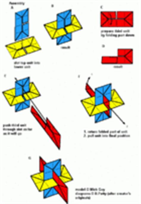 origami xyz how to make intersecting planes models