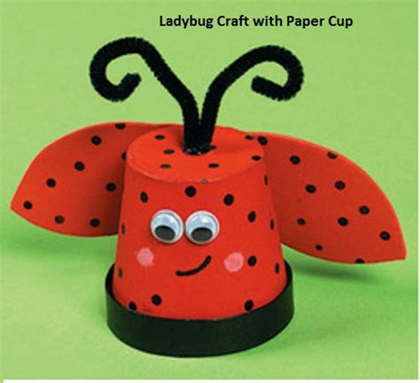 ladybug crafts for ladybug crafts idea for preschool and kindergarten