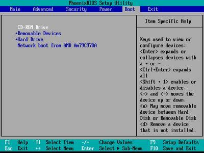 Modification Dans Le Bios by Tutoriel Modifier Ordre Amorcage Du Bios Wiki Ubuntu Fr