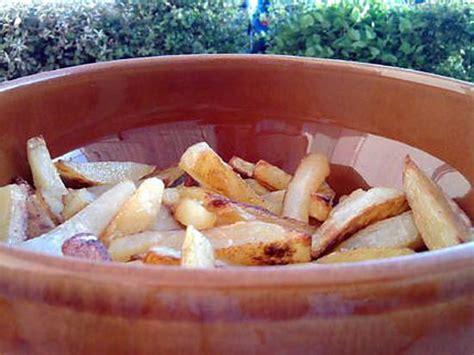 recette de frites maison au four
