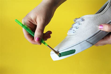 can you use acrylic paint on canvas shoes diy fruit loopz call it