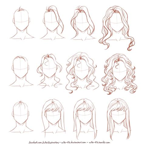 how to draw curly hair how to draw curly hair anime style step 6 brown hairs