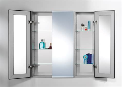 Bathroom Mirror Medicine Cabinet by Bathroom Medicine Cabinets With Lights Recessed Mirrored