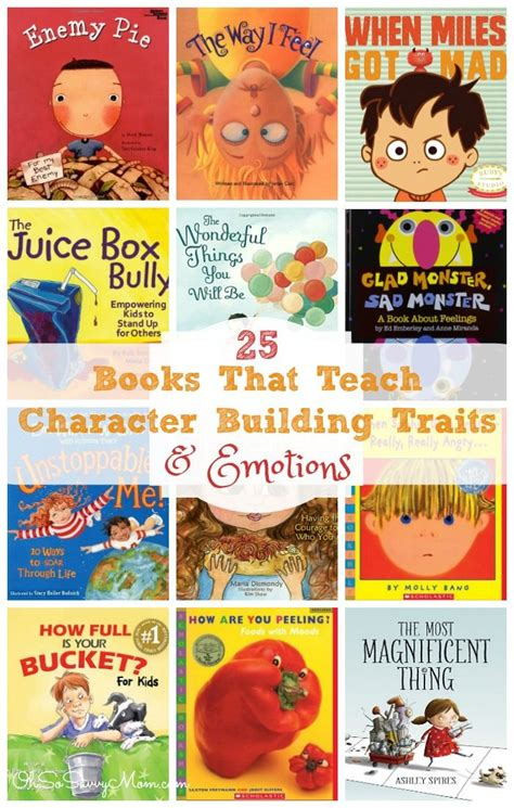 picture books character traits 1000 ideas about teaching emotions on