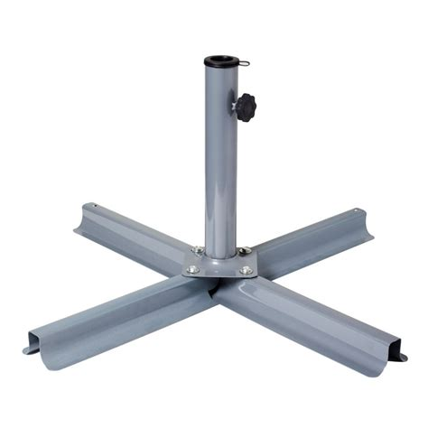 patio umbrellas stands corliving grey patio umbrella stand the home depot canada