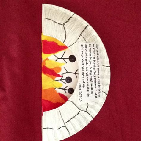 shadrach meshach and abednego craft for shadrach meshach and abednego craft idea using a paper