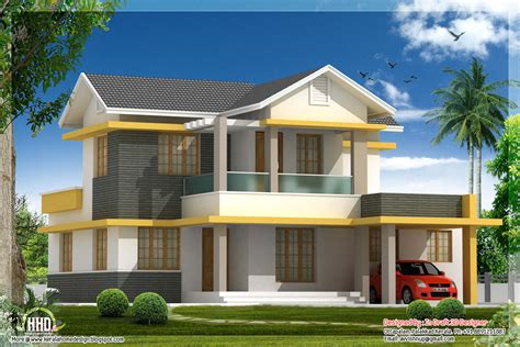 home design picture free beautiful 4 bedroom house elevation in 1880 sq