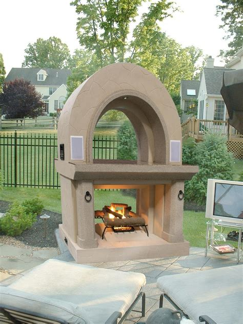 prefab outdoor fireplace wood burning ideas prefab outdoor fireplace babytimeexpo furniture