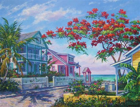 key west painting meet the artist kevin hutchinson downtown stuart