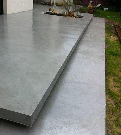 les 25 meilleures id 233 es de la cat 233 gorie terrasse beton sur filet de