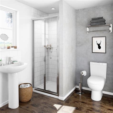 bifold glass shower door clarity 4mm bifold shower door victoriaplum
