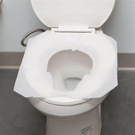 Toilet Paper On Public Toilet Seat by Half Fold Paper Toilet Seat Cover 250 Per Box Paper