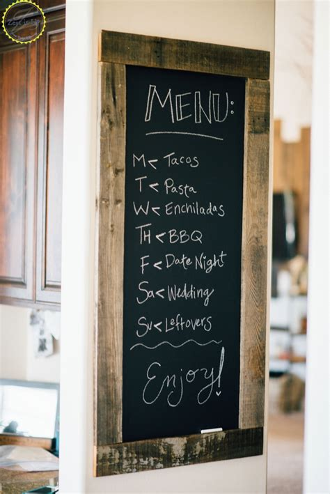 diy chalkboard for kitchen 19 amazing kitchen decorating ideas chalkboards menu