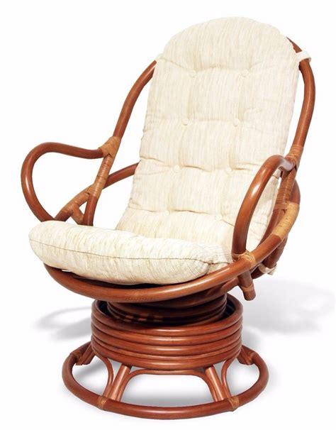 rattan swivel chairs java handmade design rattan wicker swivel rocking chair