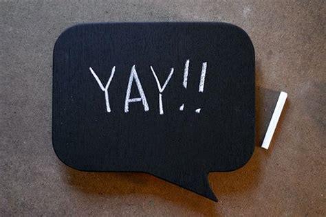 diy chalkboard speech chalkboard speech idea activity