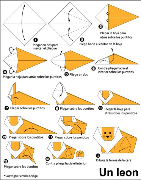 how to make an origami leopard origami