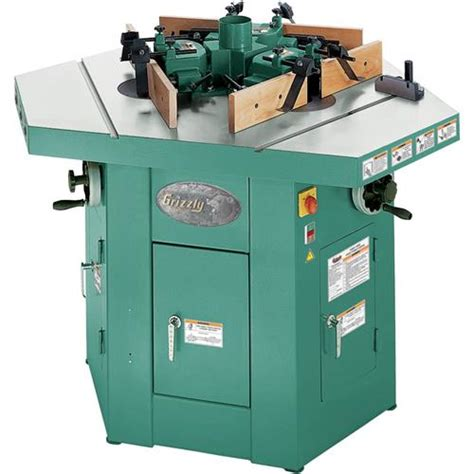 woodworking shapers for sale three spindle shaper grizzly industrial