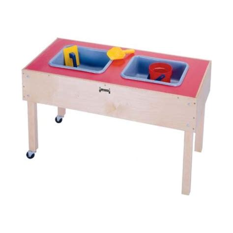 water sensory table jonti craft 2 tub sensory table 0486jc