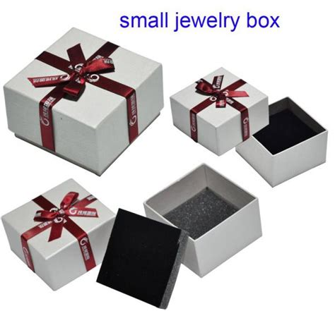 jewelry box supplies luxury small jewelry box supplies with flocking