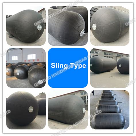 types of rubber sts marine rubber fender rubber bladder with chain