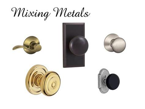 mixing metals mixing metals in home decor