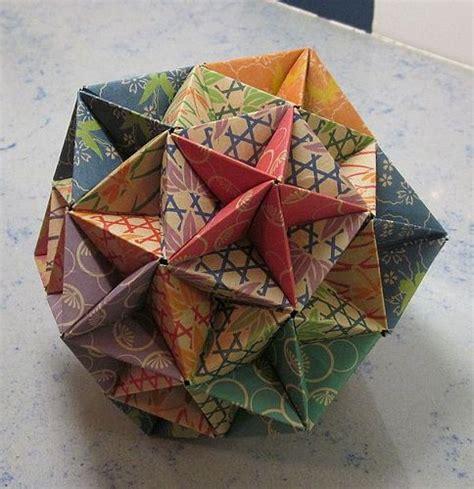 modular origami 12 units 120 sonobe unit modular origami