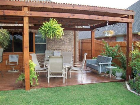 backyard wood patio cheap backyard patio designs architectural design