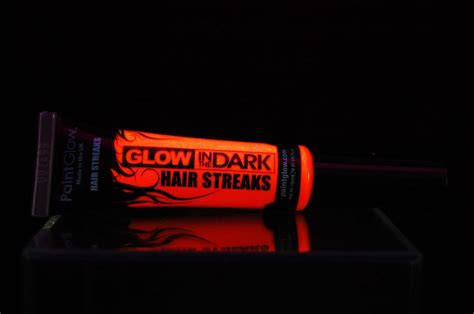 glow in the paint usa paintglow glow in the color streaks hair mascara