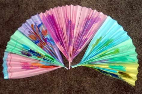 japanese paper fan craft you can decorate your japanese fan with traditional