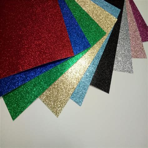 glitter paper for card cardstock card color high quality card stock paper glitter