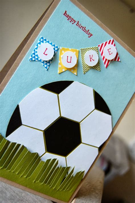 boys birthday cards to make 25 best ideas about football cards on