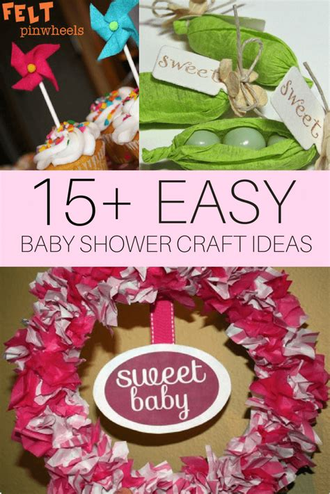 baby shower craft projects diy baby shower craft ideas cutestbabyshowers