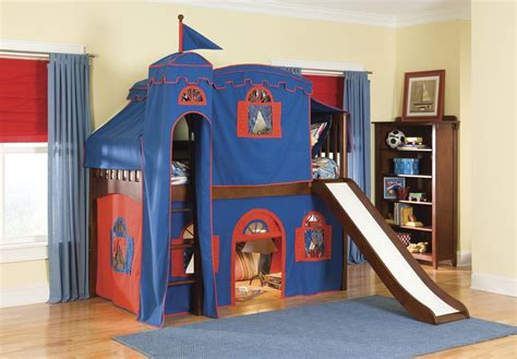 boy bunk bed with slide childrens bunk beds with slide interior decorating