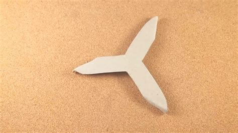 origami boomerang 2 easy ways to make a paper boomerang wikihow