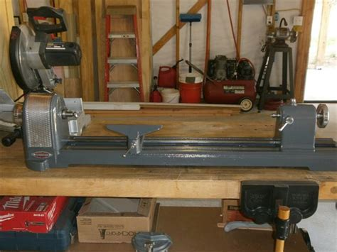 woodworking manual diy craftsman wood lathe 36 plans free