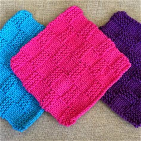 knitting patterns for beginners learn how to knit with a knit dishcloth pattern 10