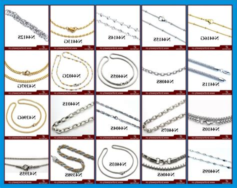 different types of different types of jewelry chains caymancode