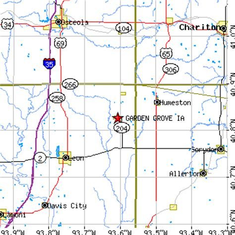 Garden Grove Area Code Garden Grove Iowa Ia Population Data Races Housing