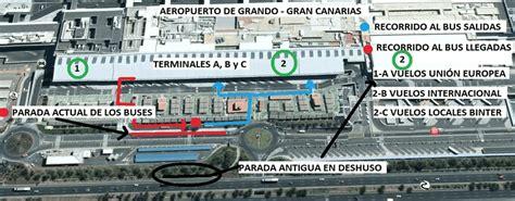 salidas aeropuerto de gran canaria transportes en el aeropuerto de gran canaria