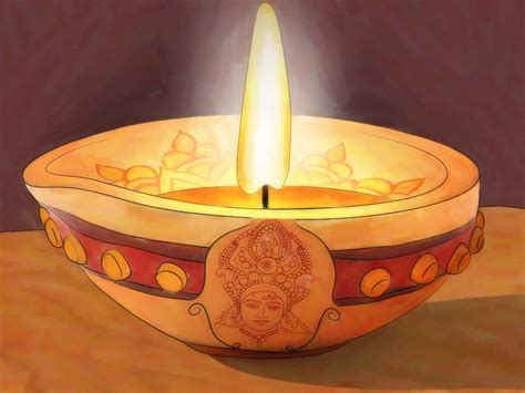 how to decorate 3 ways to decorate a diya wikihow
