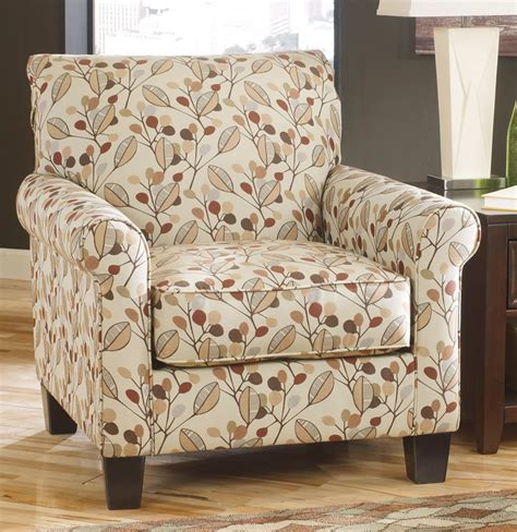 upholstered accent chairs living room furniture with leaves design upholstered accent