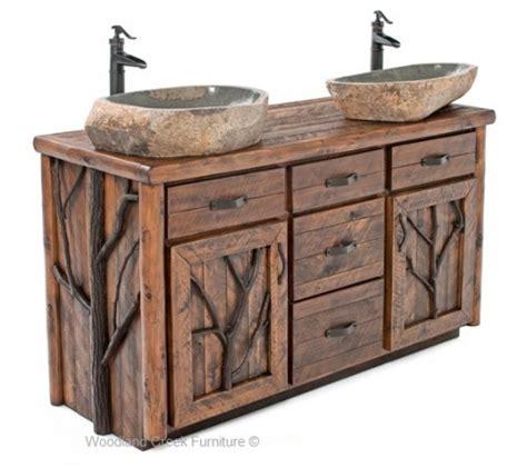 Rustic Modern Bathroom Vanities by Vanities Rustic Bathroom Vanities Barnwood Vanities