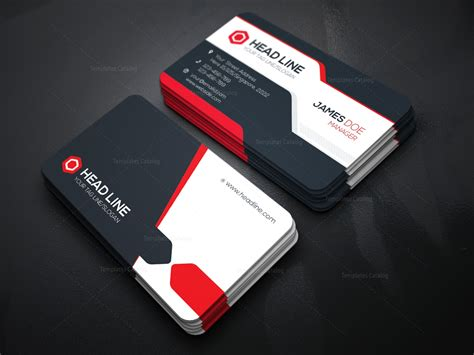 make visiting card stylish visiting card template 000085 template catalog